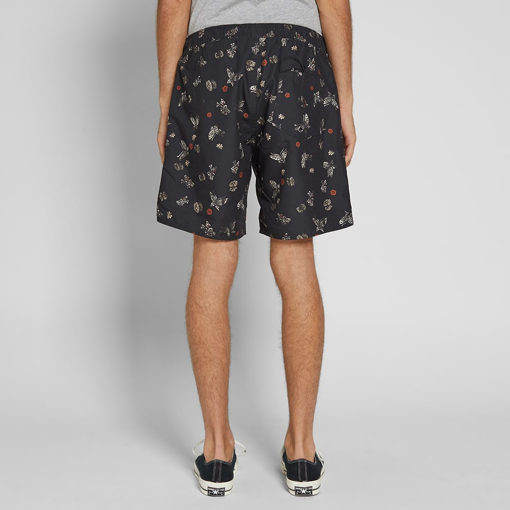 Saturdays NYC Timothy Butterfly Print Swim Short - Lacquer Butterfly Print
