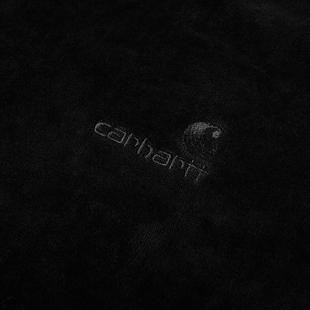 Carhartt WIP Hooded United Script Sweat - Black