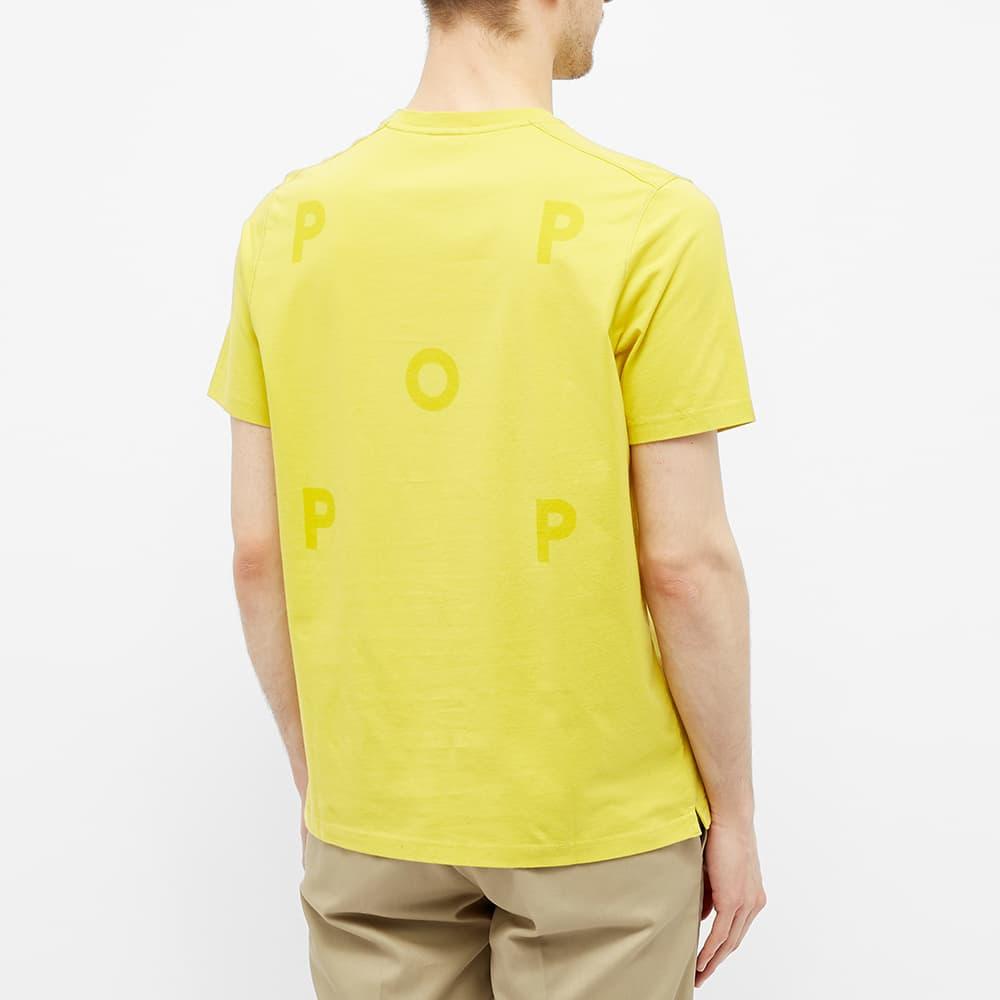 POP Trading Company Logo Tee - Electric Yellow