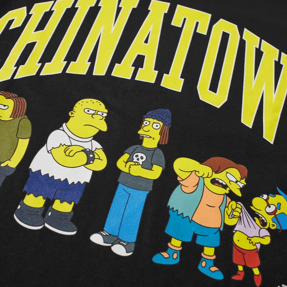 Chinatown Market x The Simpsons Ha Ha Arc Tee - Black