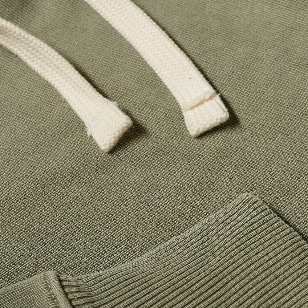 Nigel Cabourn Embroidered Arrow Hoody - Army