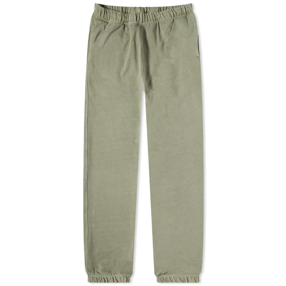 Nigel Cabourn Embroidered Arrow Sweat Pant - Army