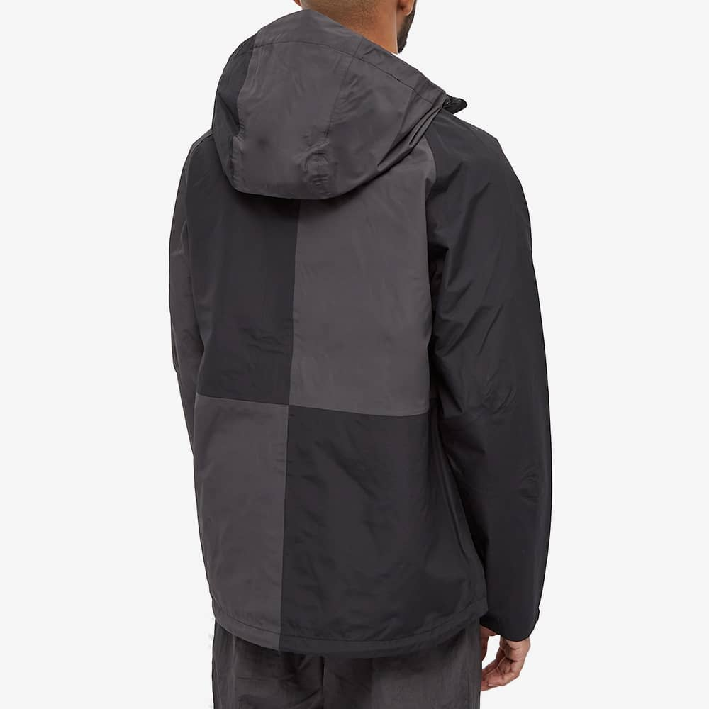 POP Trading Company Patch Panel Oracle Jacket - Black & Anthracite
