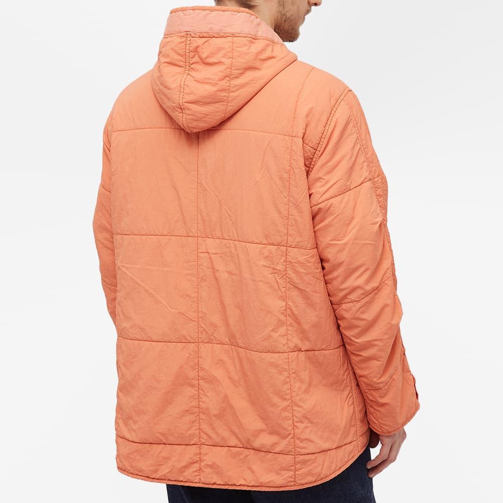 Nigel Cabourn Quilted Parka - Washed Orange