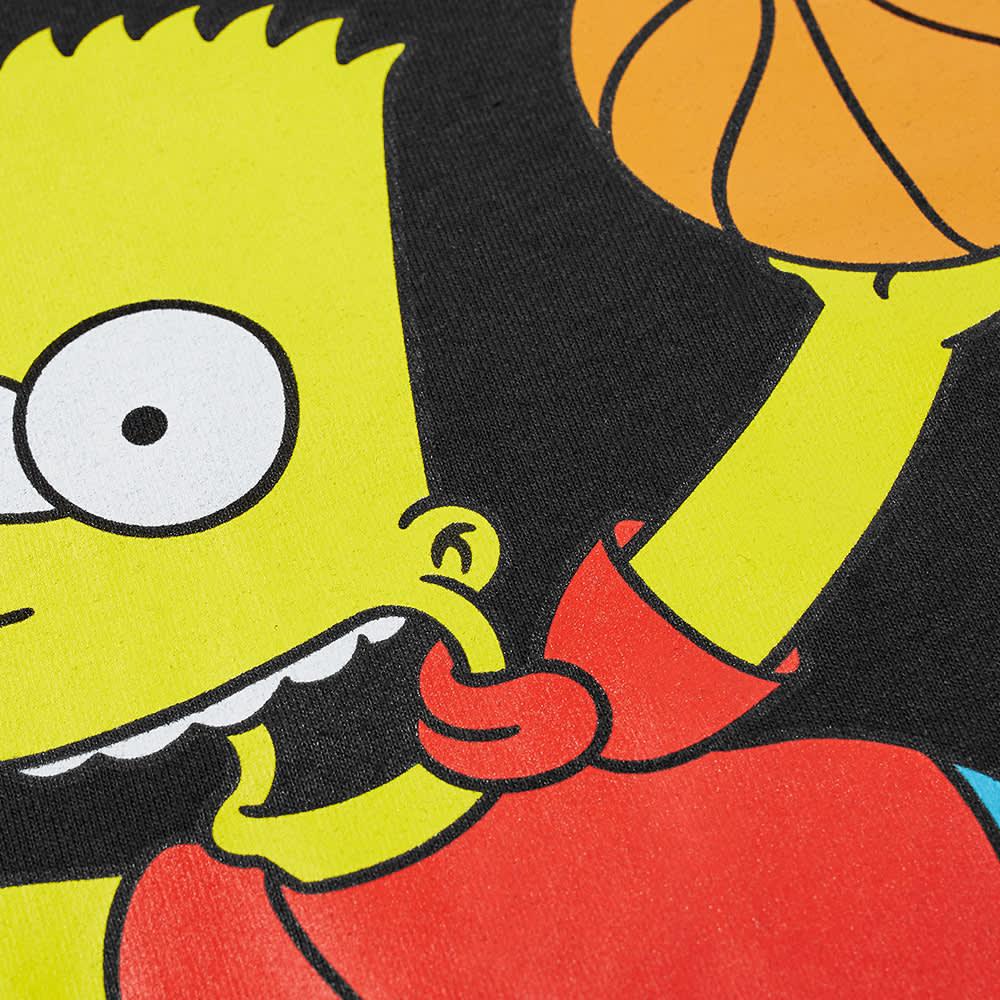 Chinatown Market x The Simpsons Air Bart Arc Tee - Black