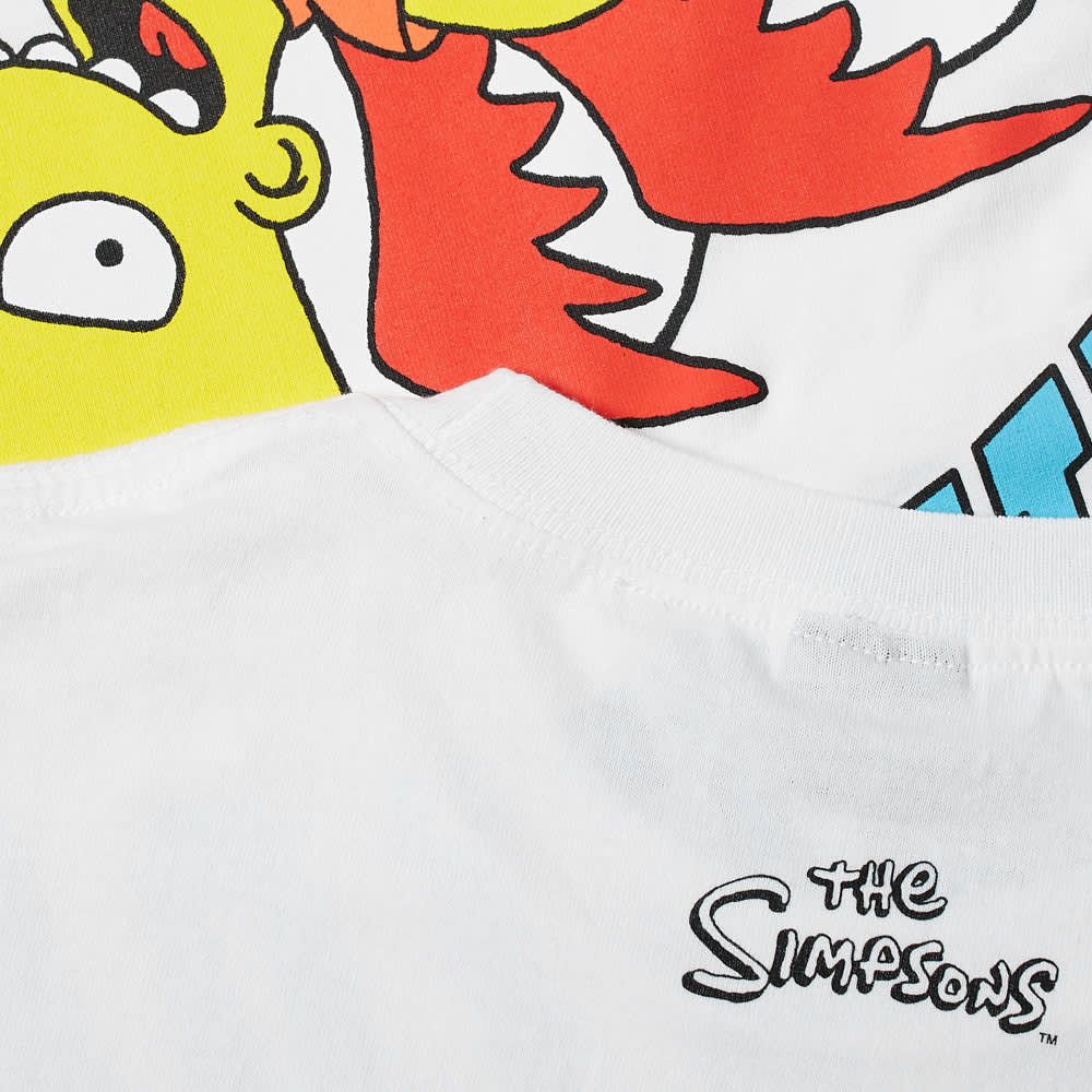 Chinatown Market x The Simpsons Devil Arc Tee - White