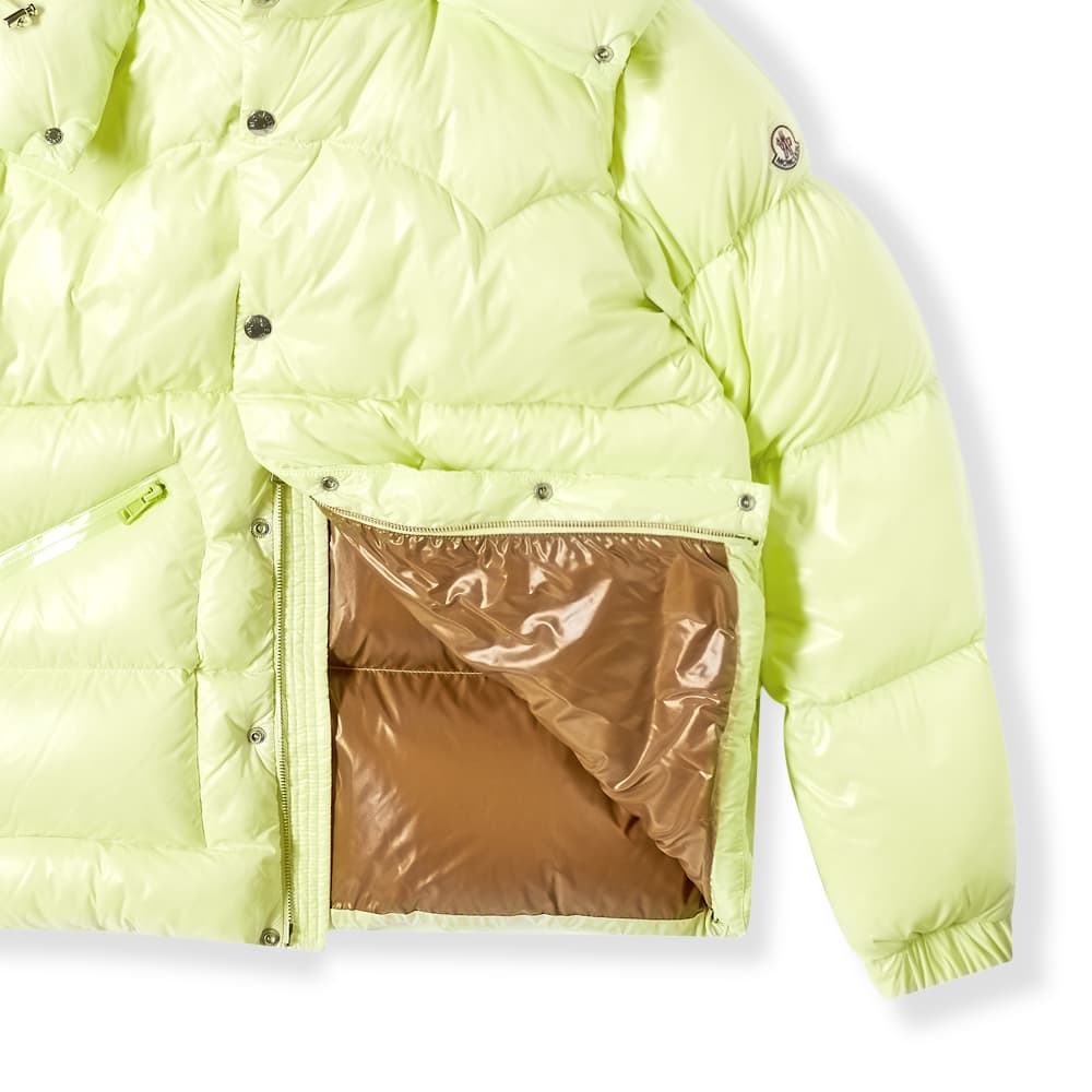 Moncler Coutard Hooded Down Jacket - Fluo Yellow