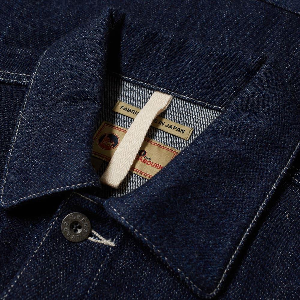 Nigel Cabourn Lybro Denim Hip Jacket - Indigo