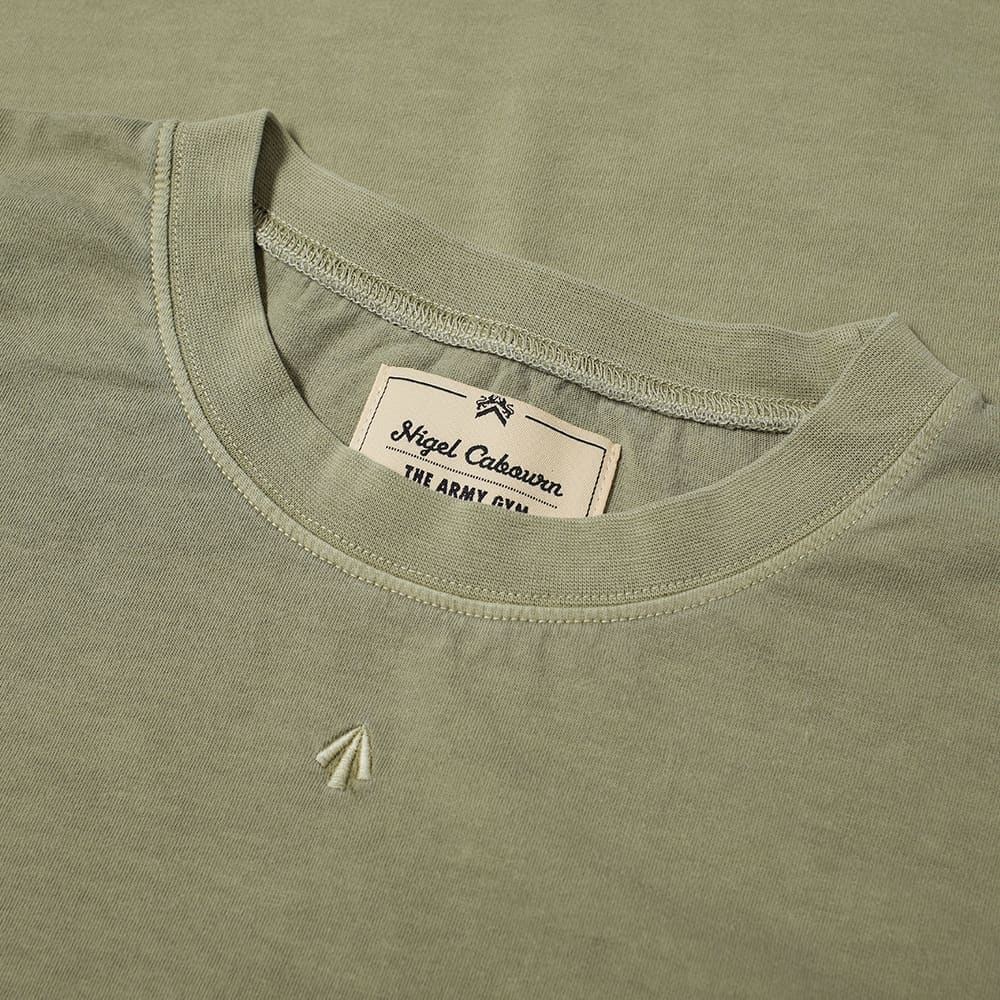 Nigel Cabourn Embroidered Arrow Tee - Army