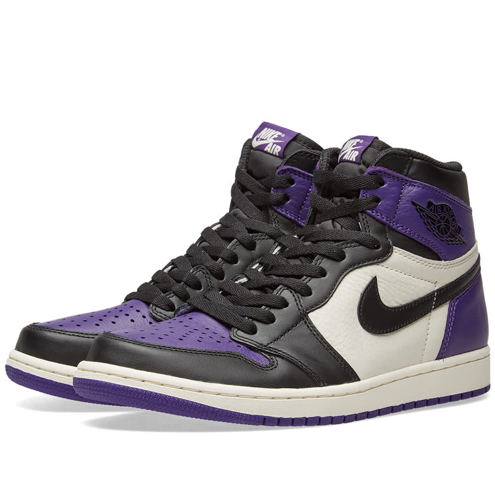 nike air jordan 1 retro high purple