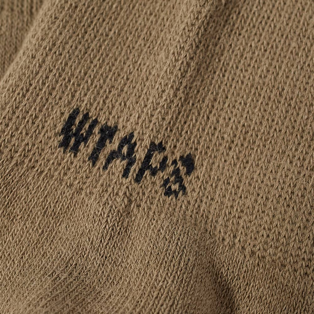WTAPS Skivvies Sock - 3-Pack - Olive Drab
