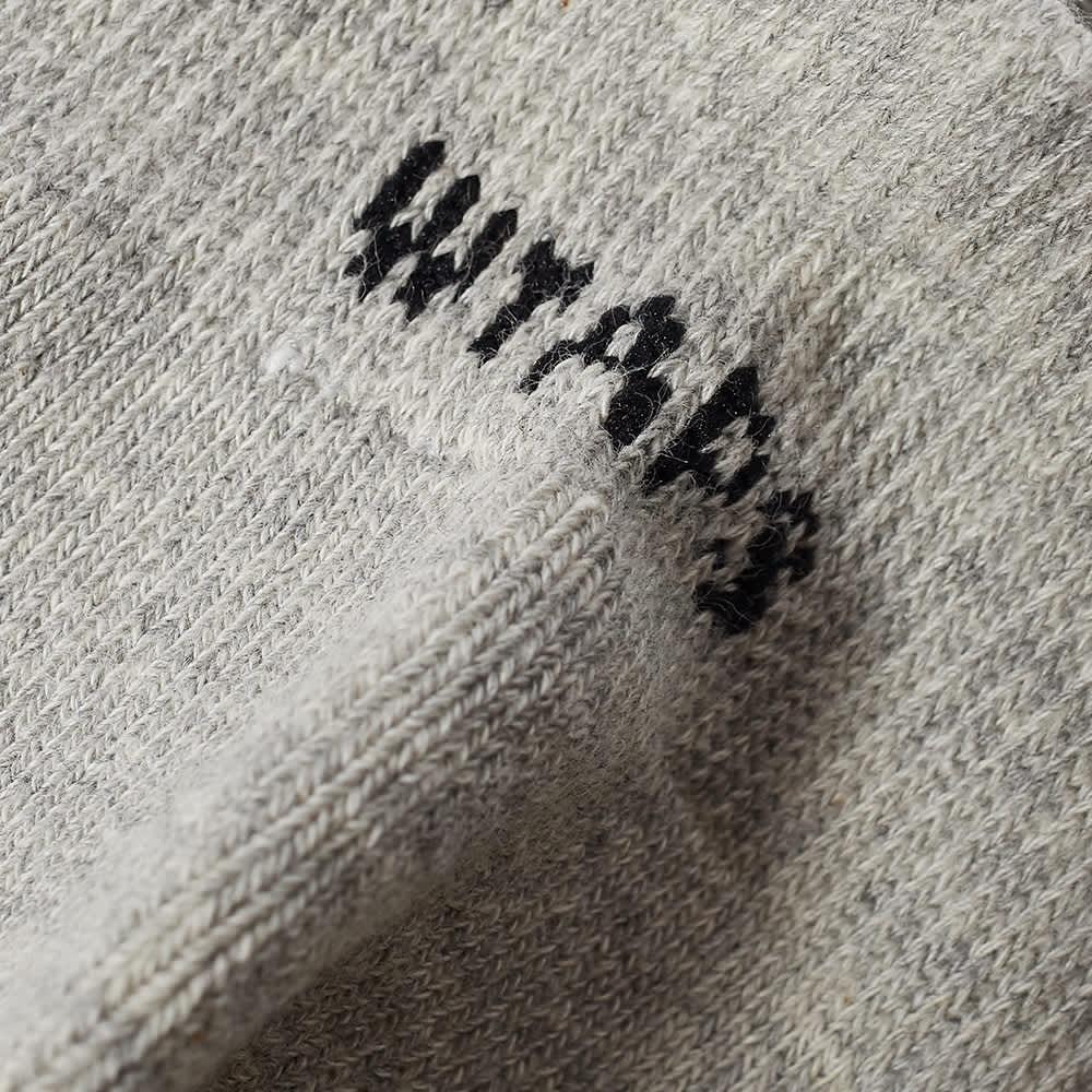 WTAPS Skivvies Short Sock - 3-Pack - Grey