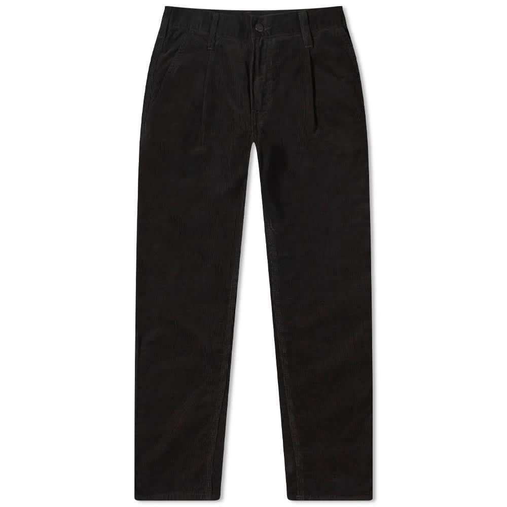 Carhartt WIP Abbott Corduroy Pant - Black