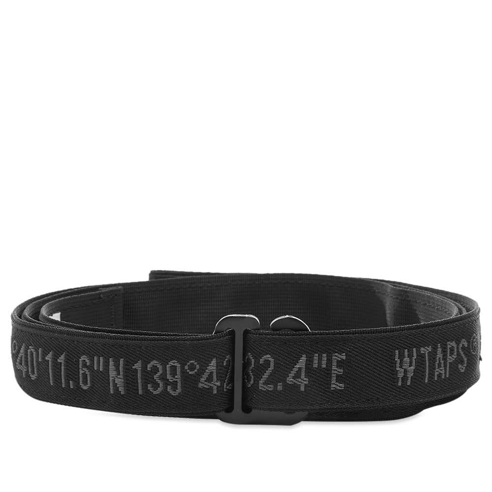 WTAPS Webbing Belt - Black