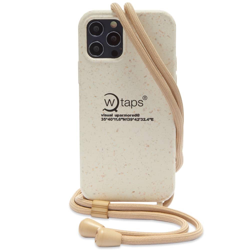 WTAPS Bumber iPhone Case - White