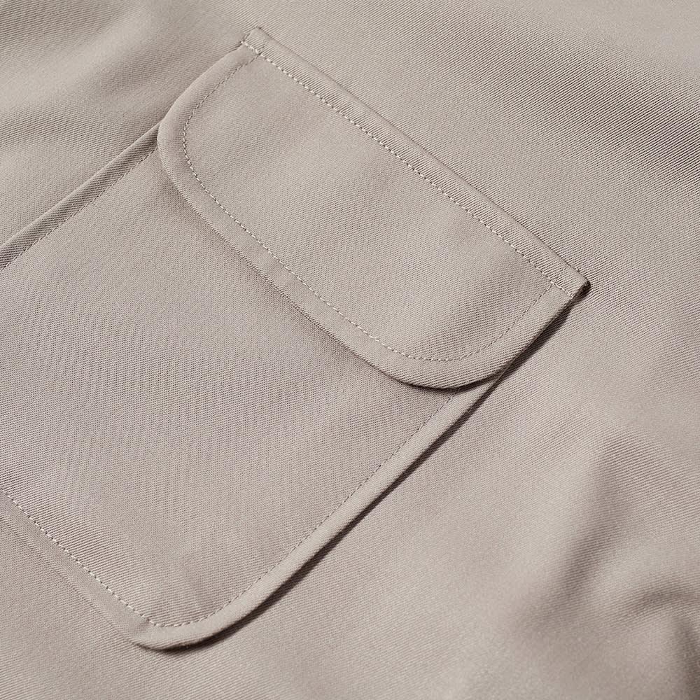 Our Legacy Poco Pocket Overshirt - Grey Tech Wool