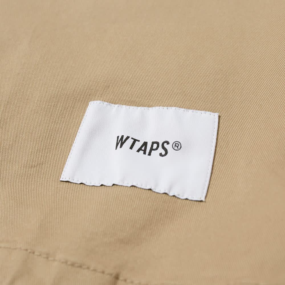 WTAPS Smock Crew Neck Overshirt - Beige