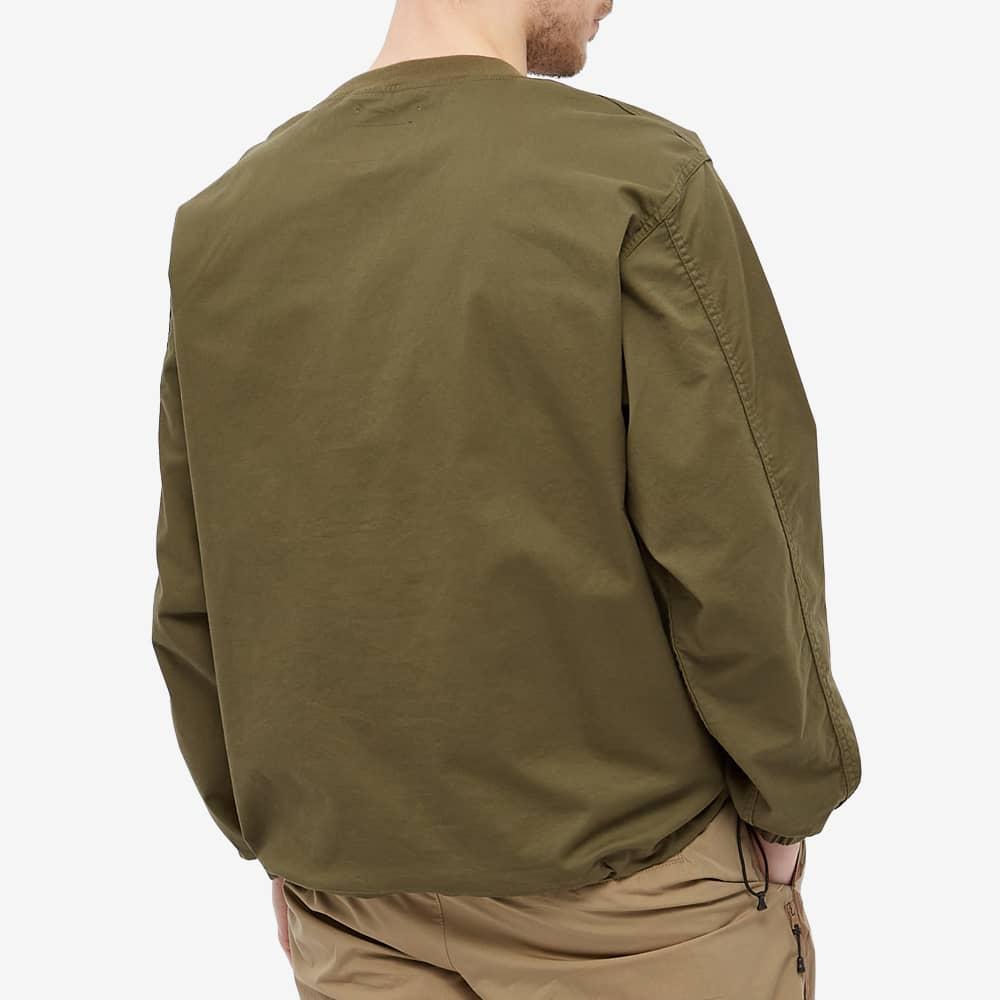 WTAPS Smock Crew Neck Overshirt - Olive Drab