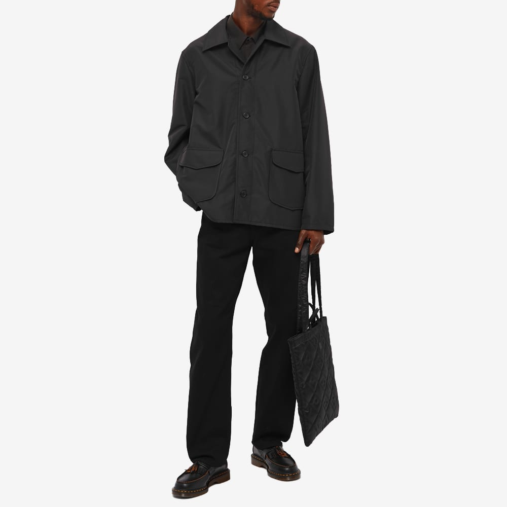 Our Legacy Sunday Recycled Nylon Jacket - Black Recycled Poly