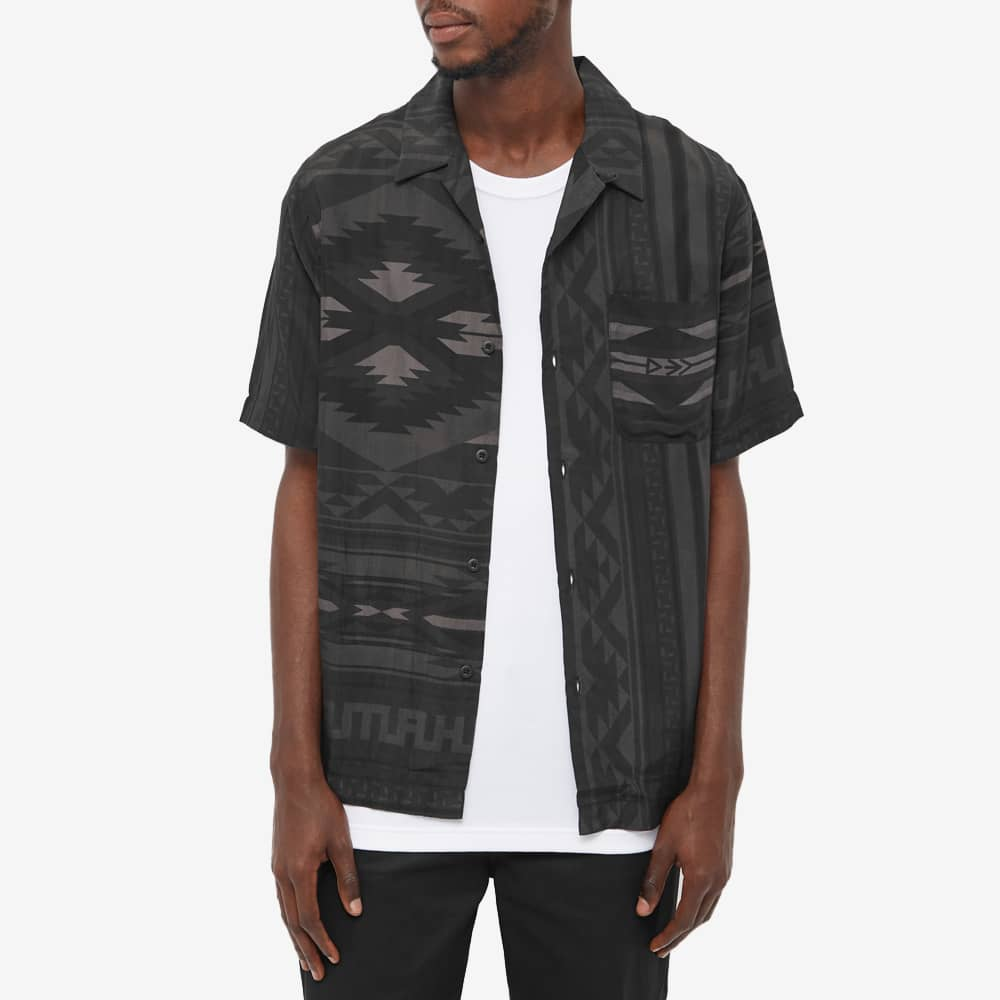 Maharishi Broken Arrow Vacation Shirt - Black