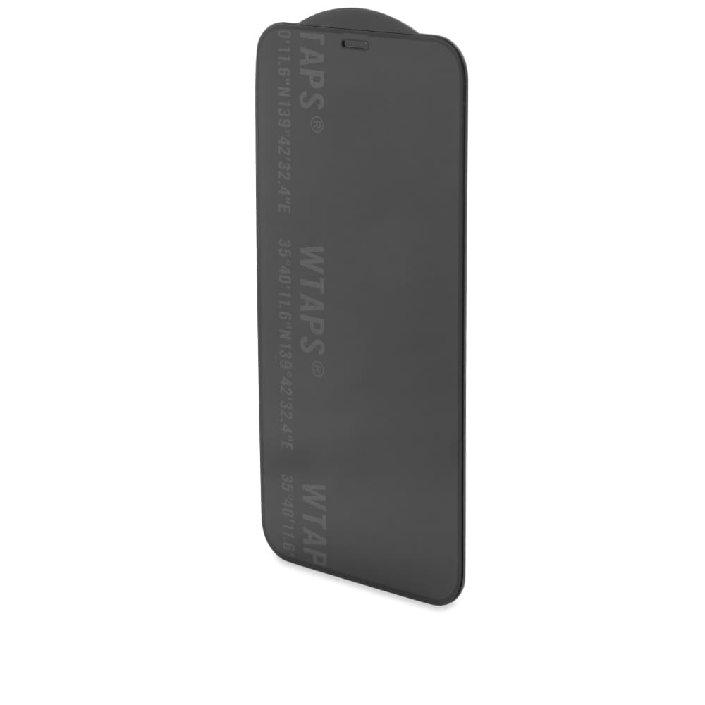 WTAPS iPhone 12 Pro Logo Protection Glass - Clear