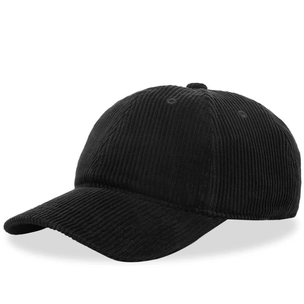 Our Legacy Cord Ball Cap - Black