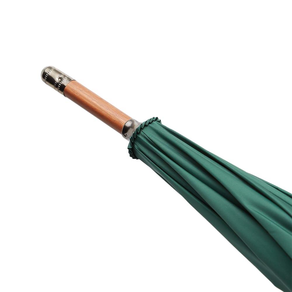 Miles Classic Logo Umbrella - Green