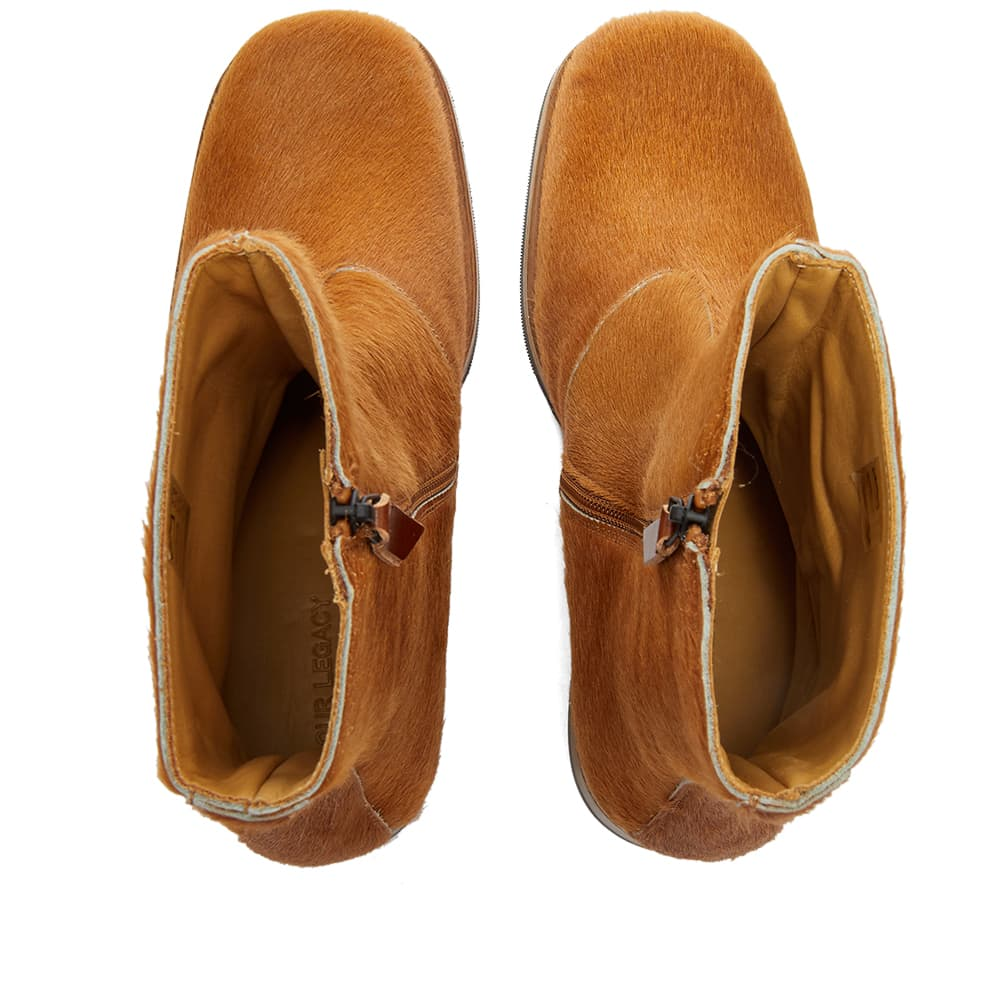Our Legacy Pony Hair Camion Boot - Caramel