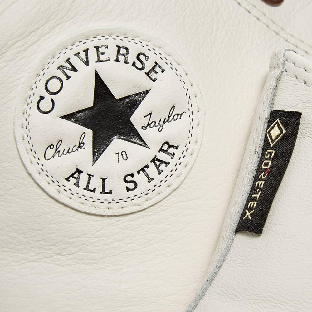 Converse Chuck Taylor 1970s Gore-Tex Hi - White Alyssum & Black