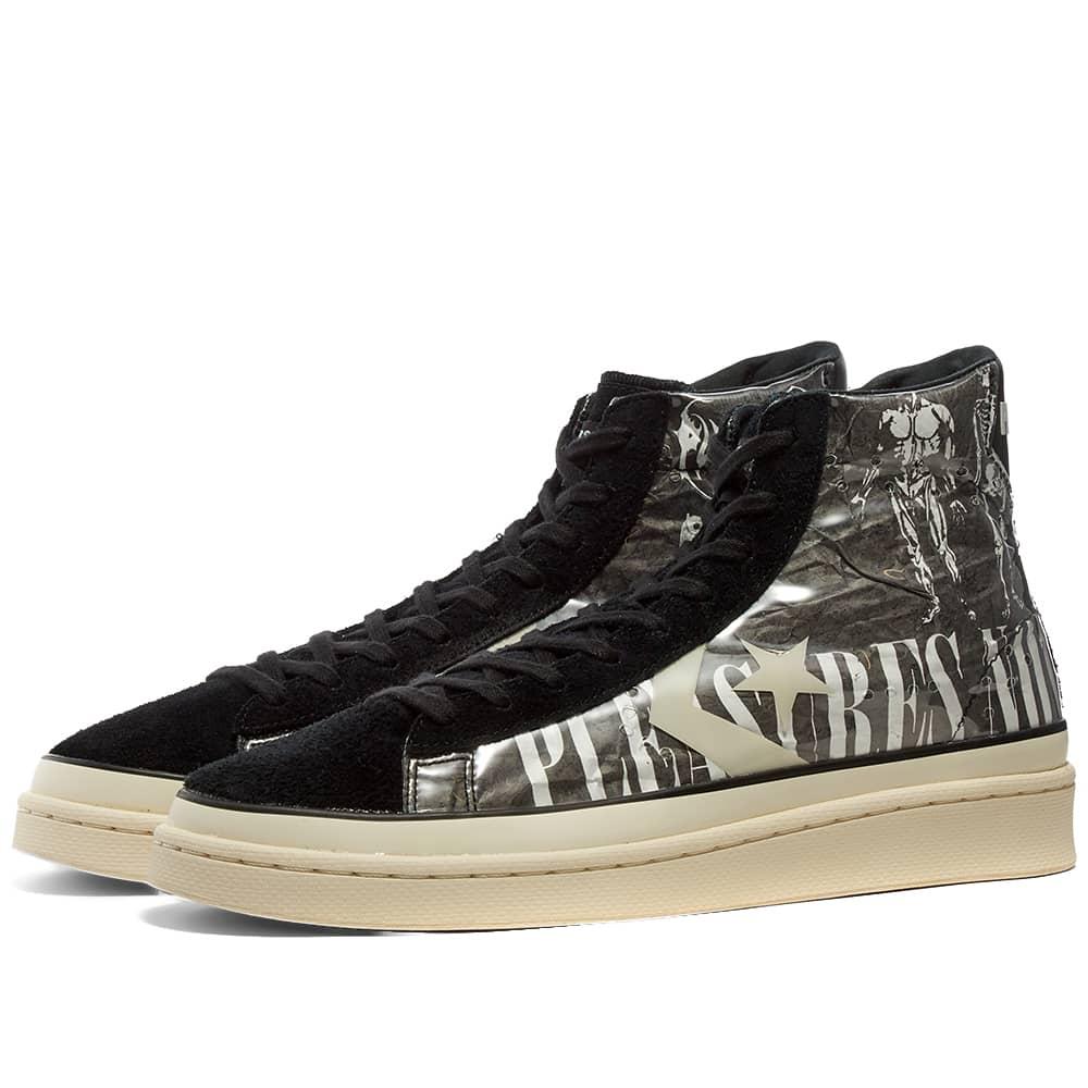 Converse x PLEASURES Pro Leather Mid