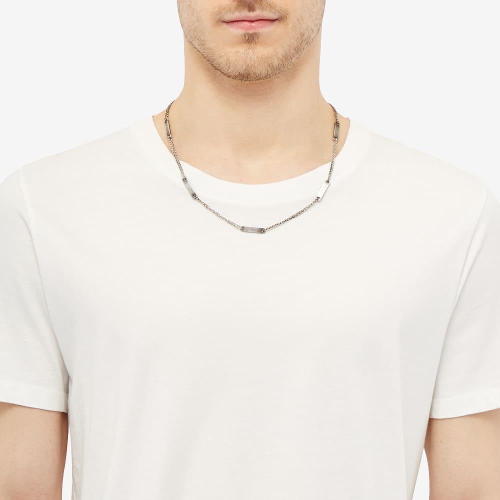 M. Cohen Chain Id Multi Tag Necklace - Silver