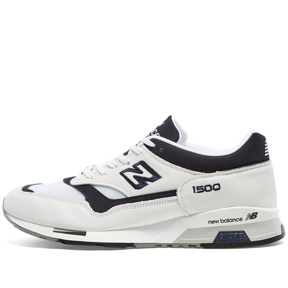 New Balance M1500WWN - Made in England - White & Black