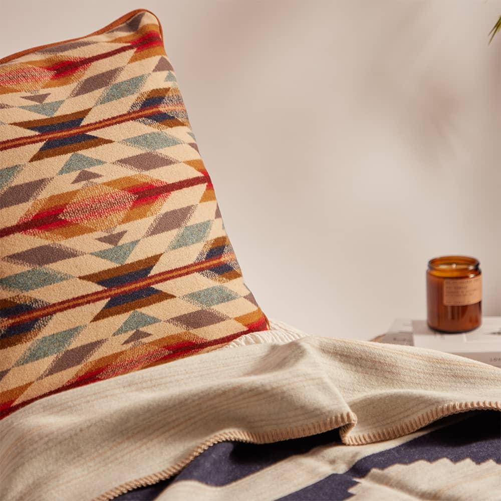 Pendleton Down-Filled Wool-Blend Cushion - Wyeth Trail