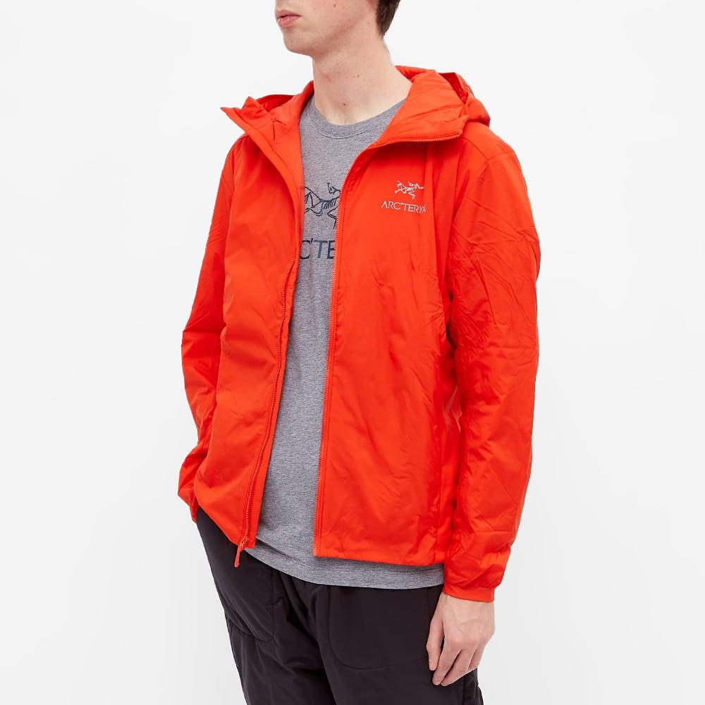 Arc'teryx Atom LT Packable Hooded Jacket - Dynasty Orange