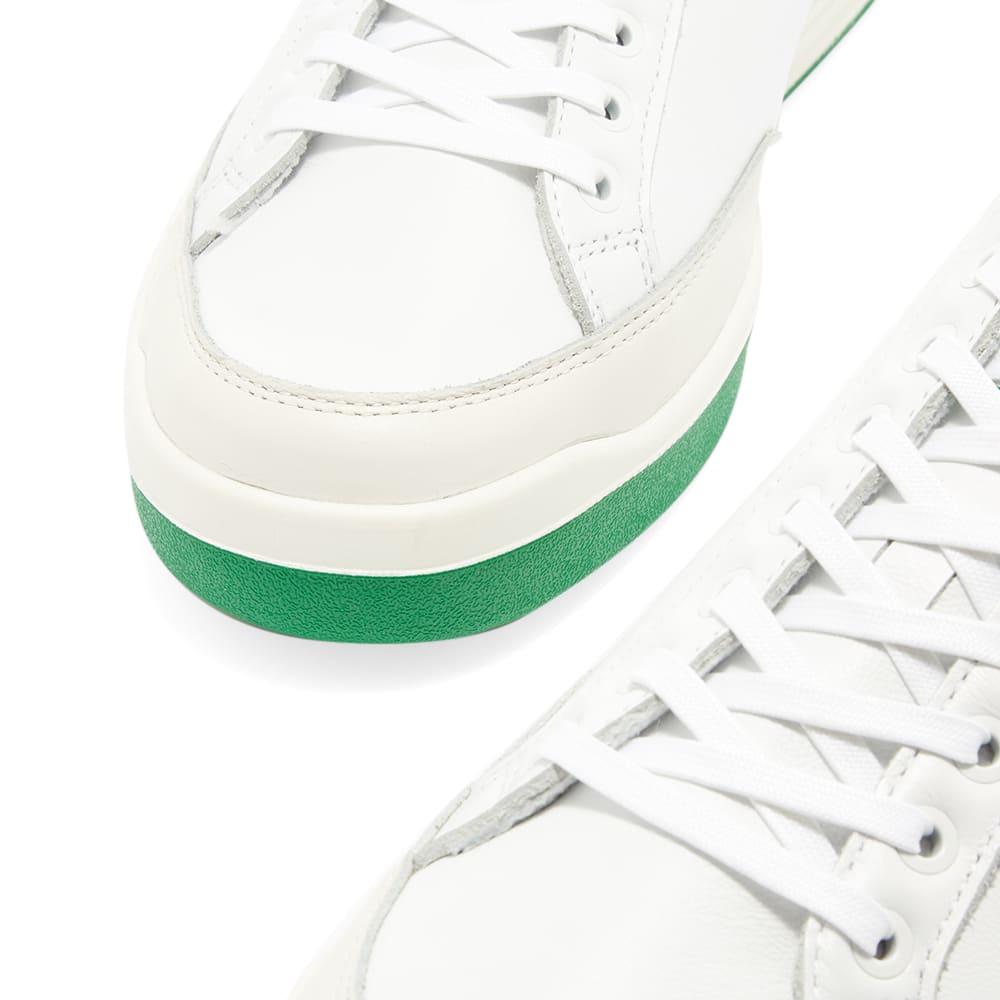 Adidas Rod Laver - White, Green & Off White