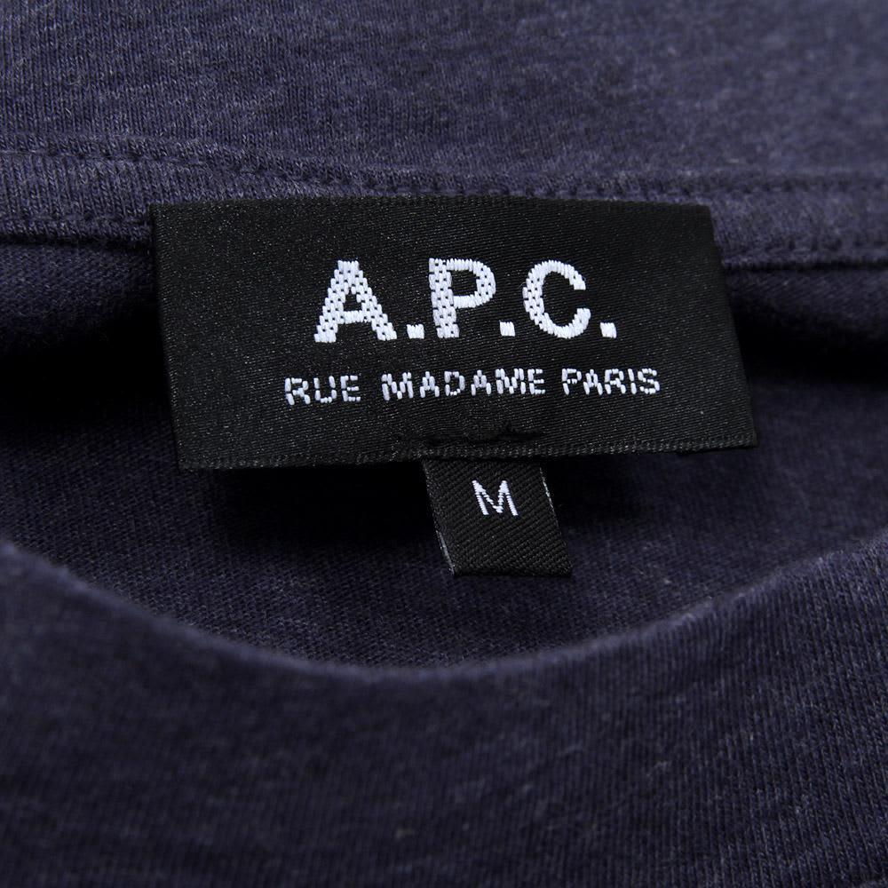 A.P.C 80's Sweat - Marine