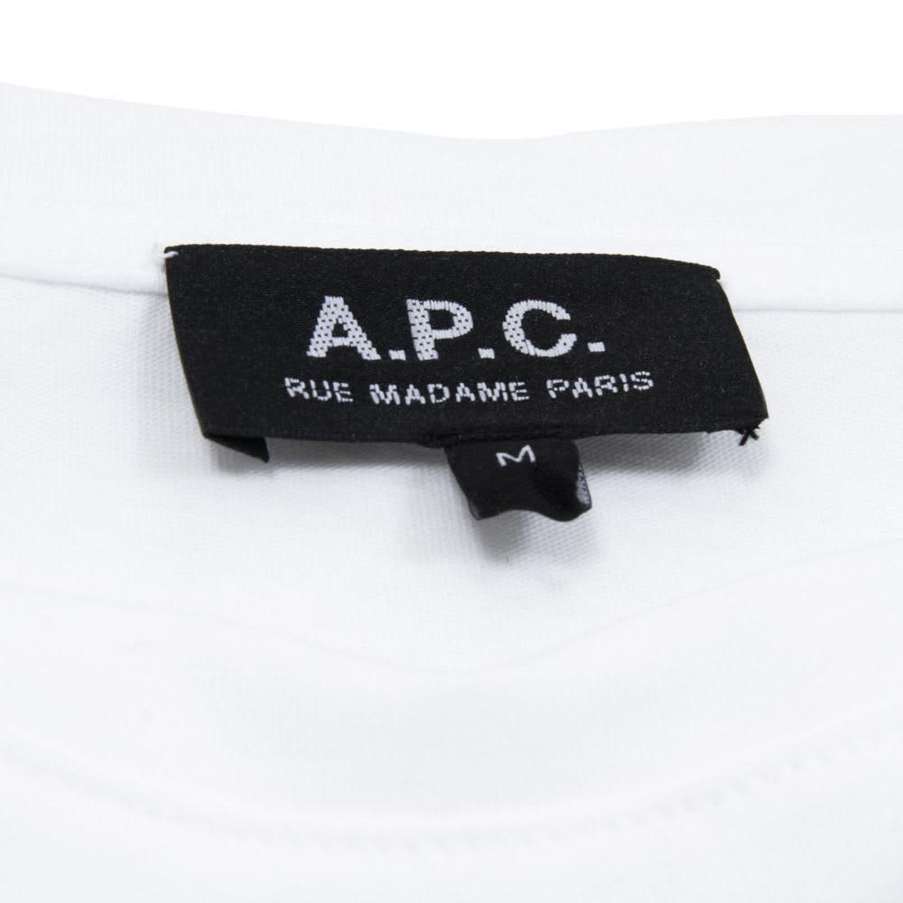 A.P.C. Map Tee - White
