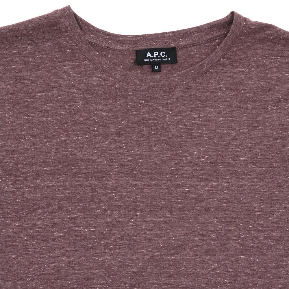 A.P.C. MC Tee - Aubergine