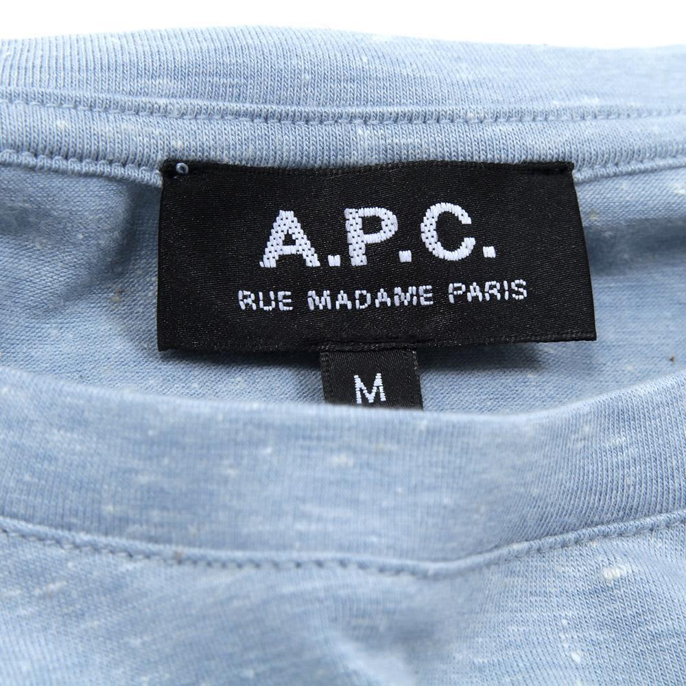 A.P.C. MC Tee - Sky Melange