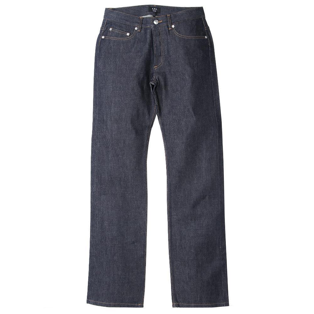 A.P.C. Rescue Dry Jean - Dark Indigo