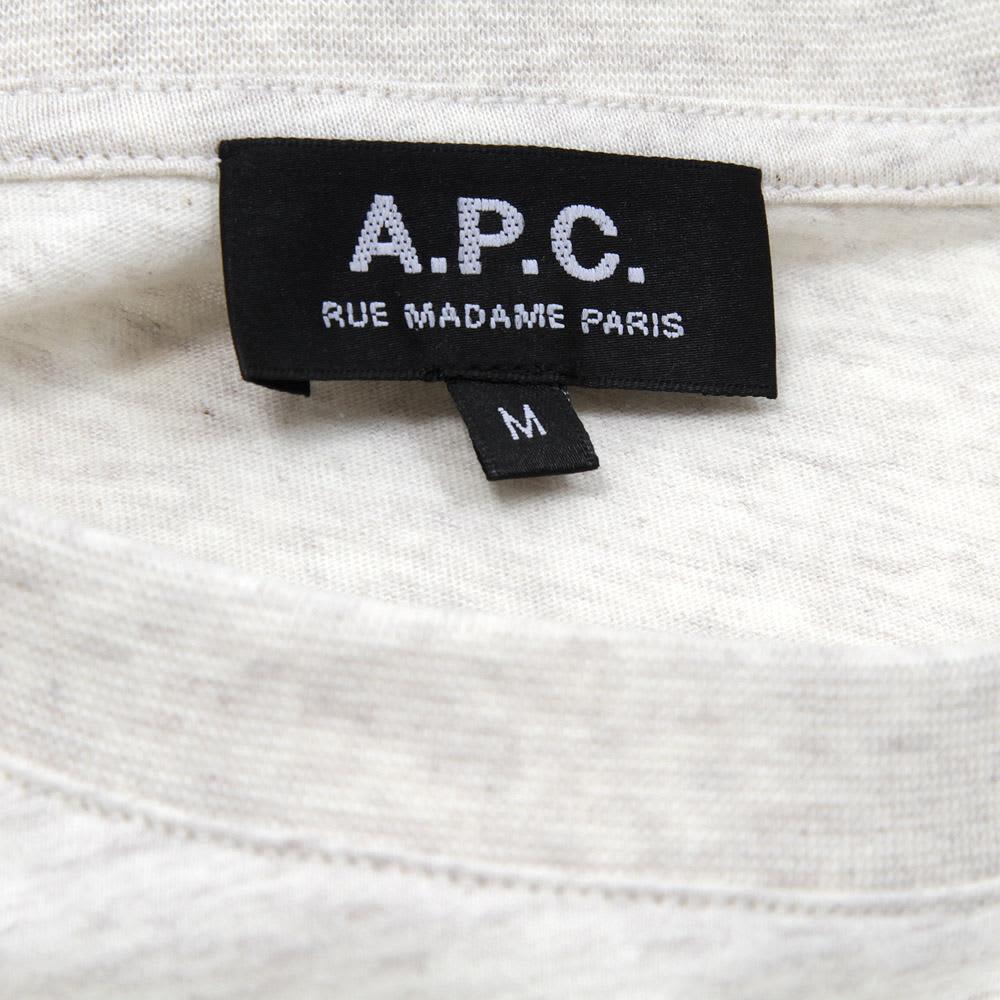A.P.C. Sport Pocket Tee - Ecru Marl