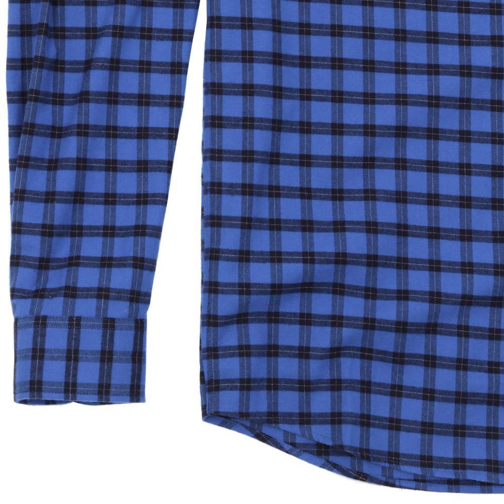 A.P.C. Vintage Checked Button Down Shirt - Blue