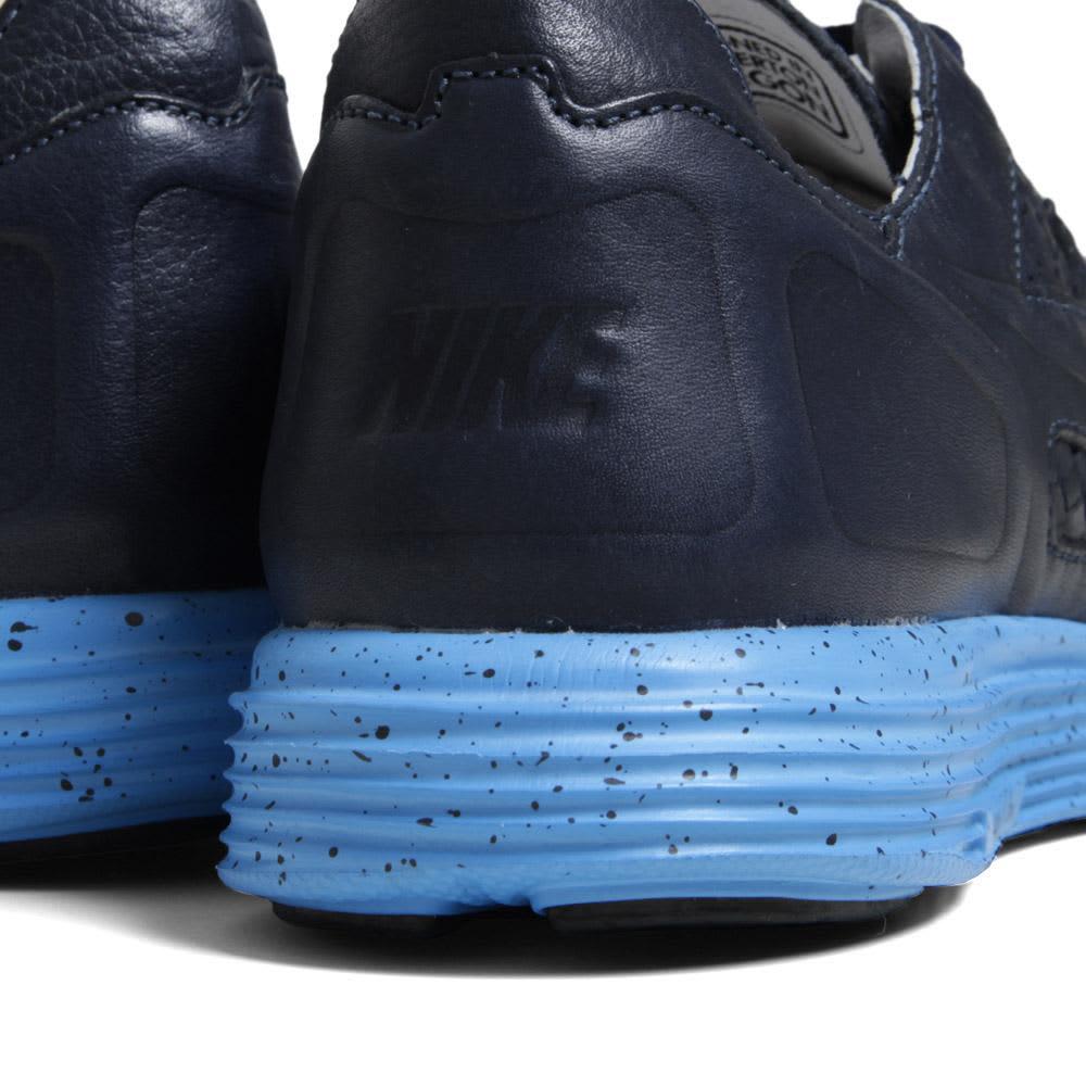 Nike Lunar Flow Woven Leather - Dark Obsidian