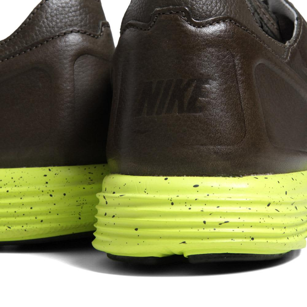 Nike Lunar Flow Woven Leather - Sable Green