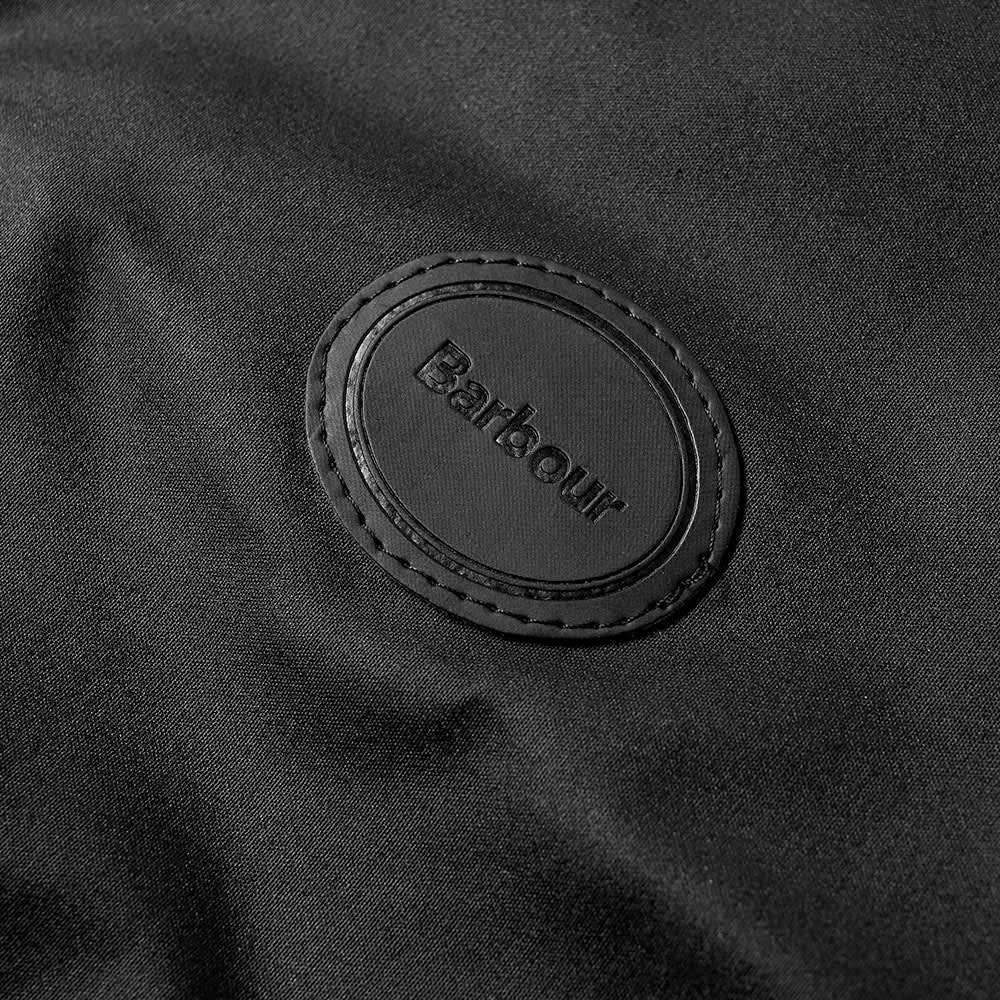 Barbour Wax Dog Coat - Black