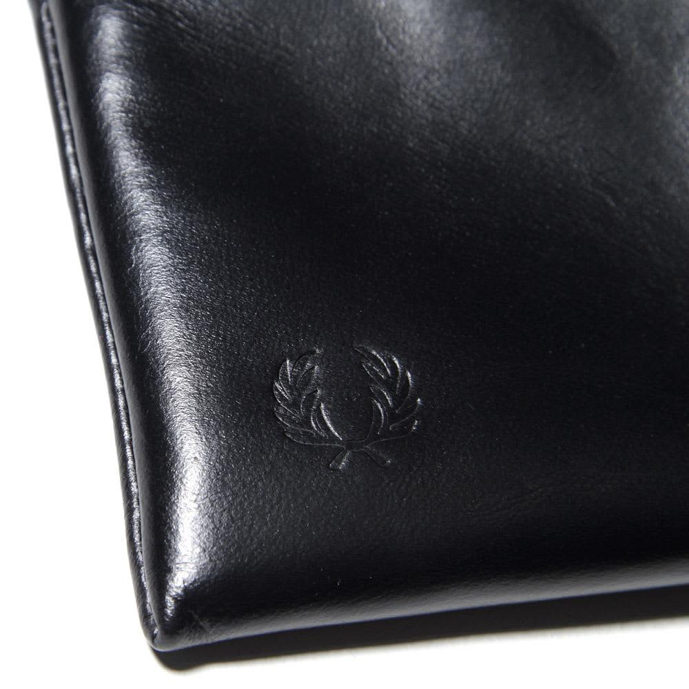 Fred Perry Zip Coin Wallet - Black