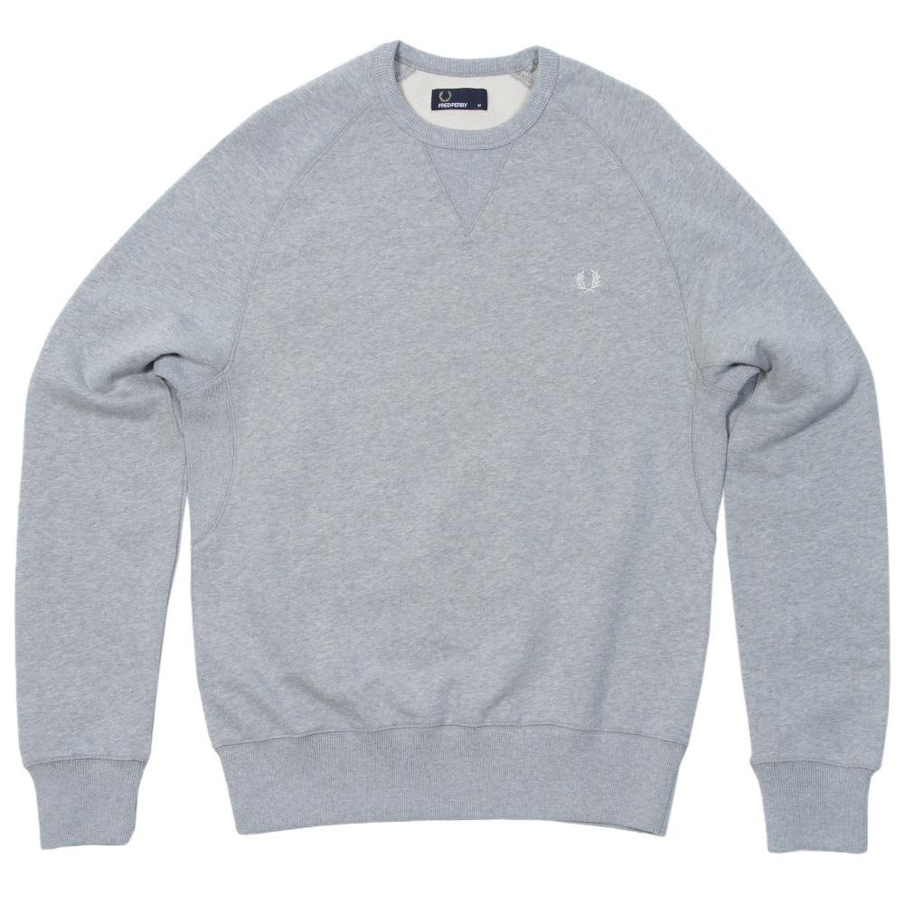 Fred Perry Crew Neck Sweat - Vintage Marl