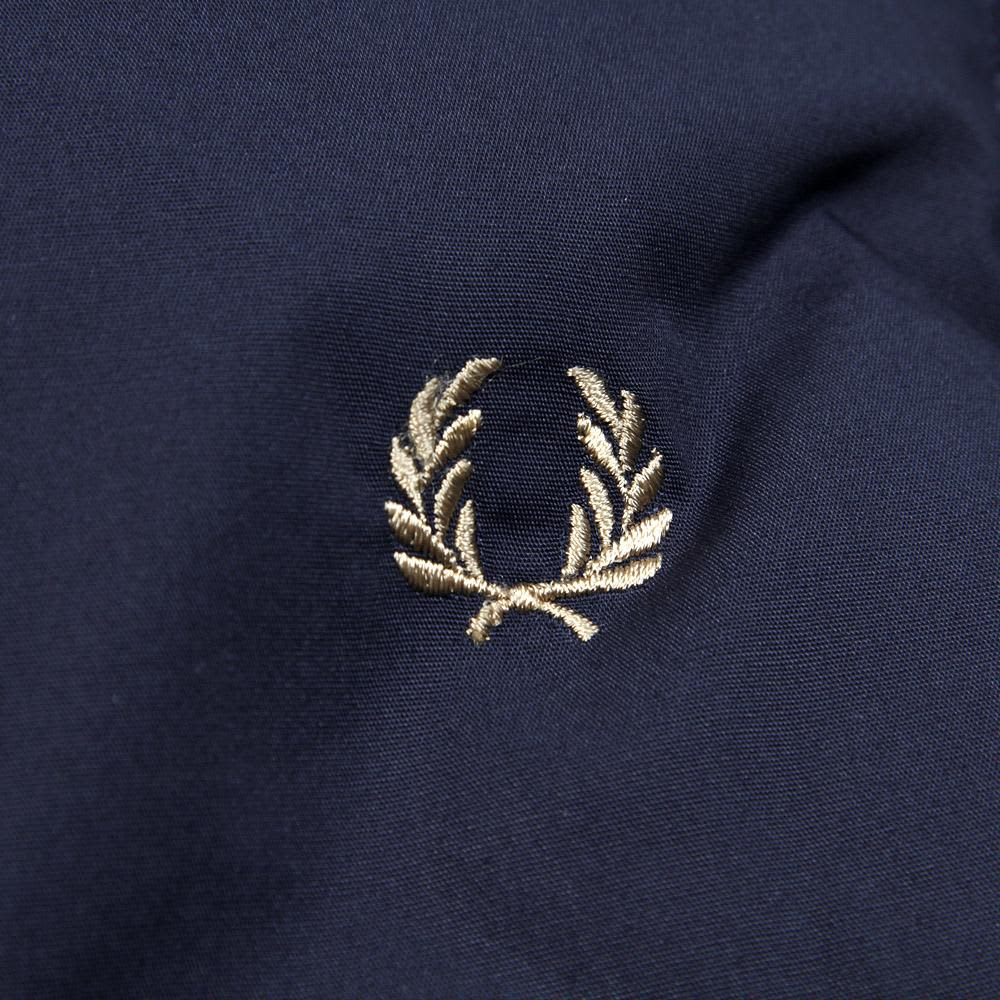 Fred Perry Lightweight Gilet - Dark Carbon