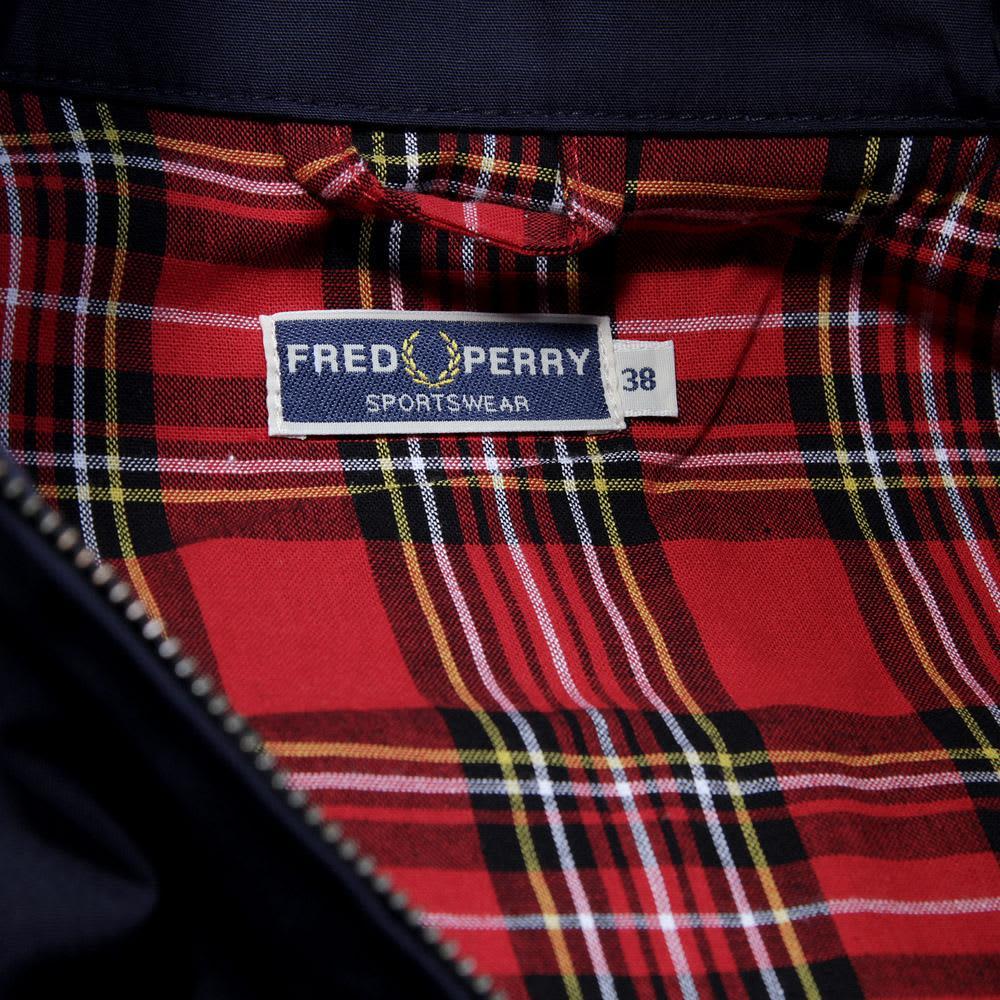 Fred Perry Harrington Jacket - Navy