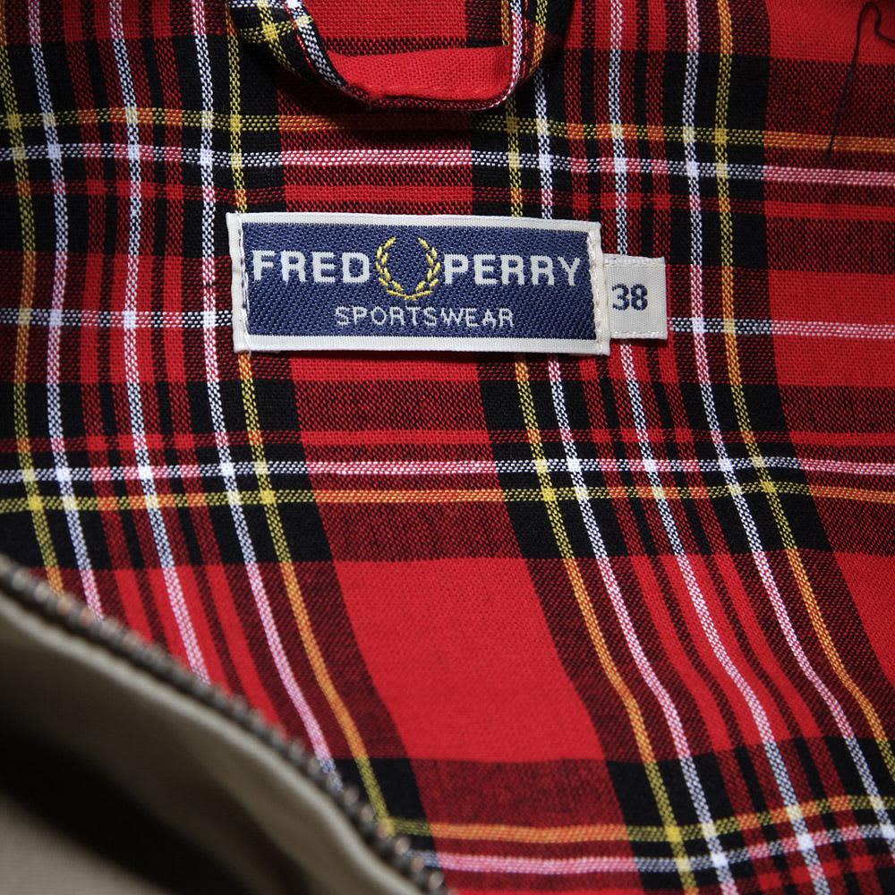 Fred Perry Harrington Jacket - Stone